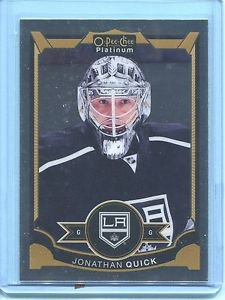 2015-16 OPC O-Pee-Chee Hockey Platinum  Base  #52  Jonathan Quick