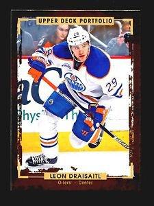 2015-16 Upper Deck Portfolio Hockey  Base  #164  Leon Draisaitl