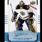 2015-16 Upper Deck MVP Hockey  #180  Malcolm Subban  Rookie   SP
