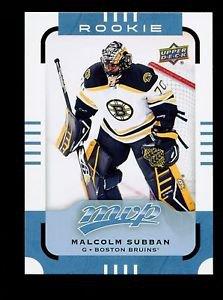 2015-16 Upper Deck MVP Hockey  #180  Malcolm Subban  Rookie   SP