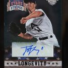 2015 Panini USA Baseball Stars & Stripes  Longevity Ruby Autograph #97 Tyler Jay