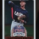 2015 Panini USA Baseball Stars & Stripes  Longevity Ruby  #22 Christopher Martin