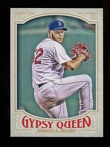 2016 Topps Gypsy Queen Baseball  Base  #58  Eduardo Rodriguez