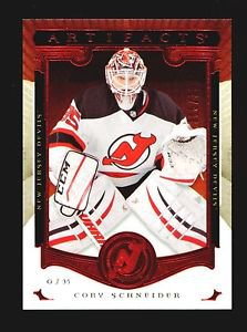 2015-16 Upper Deck Artifacts Hockey  Ruby  #122  Cory Schneider  356/399