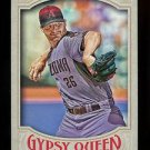 2016 Topps Gypsy Queen Baseball  Base  #162  Shelby Miller