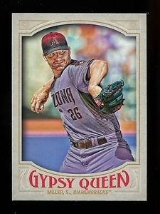 2016 Topps Gypsy Queen Baseball  Base  #162  Shelby Miller