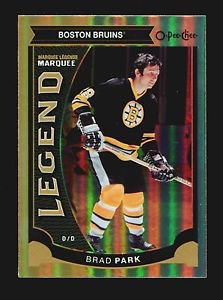 2015-16 OPC O-Pee-Chee Marquee Legend  Rainbow Foil  #572  Brad Park