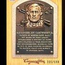 2012 Panini Cooperstown Baseball  Bronze History  #14  Alexander Cartwright
