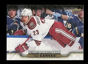2015-16 Upper Deck Hockey Series 1 UD Canvas  #C4  Oliver Ekman-Larsson