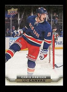 2015-16 Upper Deck Hockey Series 1 UD Canvas  #C61  Chris Kreider