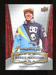 2016 Upper Deck NSCC Convention Prominent Cuts  #PC-7  Robbie Maddison