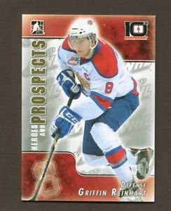 2013-14 ITG Heroes & Prospects 10th Anniversary Insert  #T-10  Griffin Reinhart