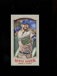 2016 Topps Gypsy Queen Baseball  Mini  #87  Alex Gordon