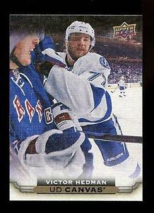 2015-16 Upper Deck Hockey Series 1 UD Canvas  #C80  Victor Hedman