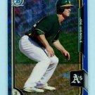 2015 Bowman Baseball Chrome  Blue Wave Refractor  #BCP174  Joe Wendle