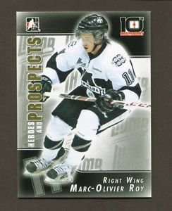 2013-14 ITG Heroes & Prospects 10th Anniversary Insert  #T-04  Marc-Olivier Roy