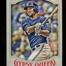 2016 Topps Gypsy Queen Baseball  Base  #253  Domingo Santana