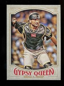 2016 Topps Gypsy Queen Baseball  Base  #233  Francisco Cervelli