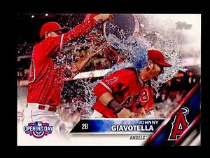 2016 Topps Opening Day Baseball  #OD-123  Johnny Giavotella