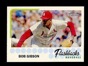 2016 Topps Heritage Baseball  Flashbacks  #BF-BG  Bob Gibson