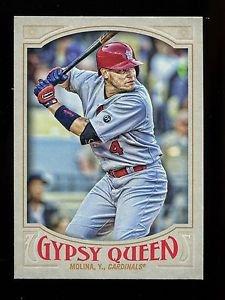 2016 Topps Gypsy Queen Baseball  Base  #102  Yadier Molina