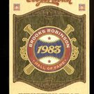 2012 Panini Cooperstown Baseball Induction Year 1983  #14  Brooks Robinson
