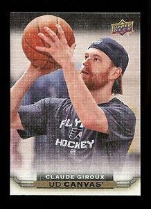 2015-16 Upper Deck Hockey Series 1 UD Canvas  #C65  Claude Giroux