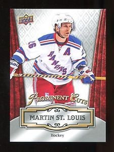 2016 Upper Deck NSCC Convention Prominent Cuts  #PC-8  Martin St. Louis