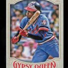 2016 Topps Gypsy Queen Baseball  Base  #328  Rod Carew  SP