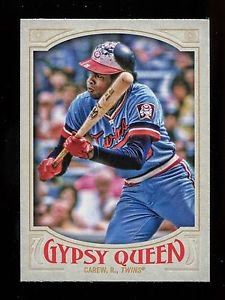 2016 Topps Gypsy Queen Baseball  Base  #328  Rod Carew  SP