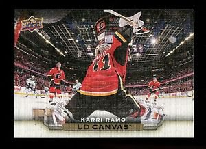 2015-16 Upper Deck Hockey Series 1 UD Canvas  #C15  Karri Ramo
