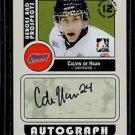 2008-09 ITG Heroes & Prospects Autograph Draft Day Pick  Calvin de Haan  #A-CDH