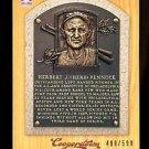 2012 Panini Cooperstown Baseball  Bronze History  #68  Herb Pennock  499/599