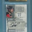 2012-13 ITG Ultimate Memo UM12 To the Hall Autograph  Scott Niedermayer  21/29