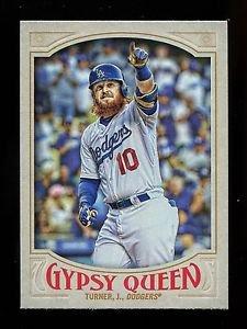 2016 Topps Gypsy Queen Baseball  Base  #192  Justin Turner