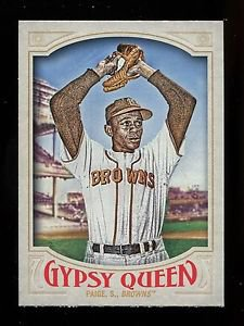 2016 Topps Gypsy Queen Baseball  Base  #324  Satchel Paige  SP