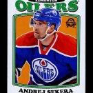 2016-17 OPC O-Pee-Chee Hockey  RETRO  #224  Andrej Sekera