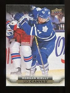 2015-16 Upper Deck Hockey Series 1 UD Canvas  #C83  Morgan Rielly
