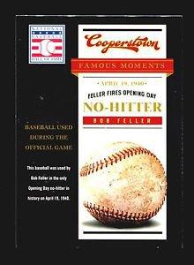 2012 Panini Cooperstown Baseball Hall of Fame Famous Moments #16  Bob Feller