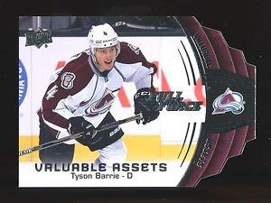 2015-16 Upper Deck Hockey Full Force  Valuable Assets  #V-TB  Tyson Barrie