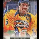 2015-16 Upper Deck Hockey Series 1 UD Canvas  #C50  Shea Weber