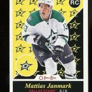 2015-16 Upper Deck Hockey Series 2 OPC Update  RETRO RC  #U30  Mattias Janmark