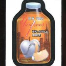 2016 Topps MLB Wacky Packages  #60  Yankees Big Apple Juice