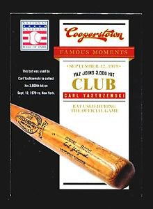 2012 Panini Cooperstown Hall of Fame Famous Moments #17  Carl Yastrzemski