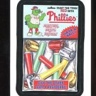 2016 Topps MLB Wacky Packages  #38  Phillies Fanatical Party Favors