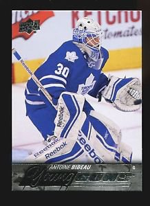 2015-16 Upper Deck Hockey Series 1 Young Guns  #240  Antoine Bibeau