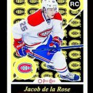 2015-16 OPC O-Pee-Chee  RETRO Parallel  #509  Jacob de la Rose  RC