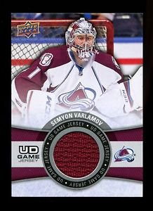 2015-16 Upper Deck Hockey Series 1 Game Jersey  #GJ-SV  Semyon Varlamov