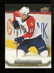 2015-16 Upper Deck Hockey Series 2  UD Canvas  #C158  Jonathan Huberdeau