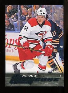 2015-16 Upper Deck Hockey Series 2 Young Guns  #487  Brett Pesce